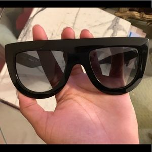 Celine black sunglasses